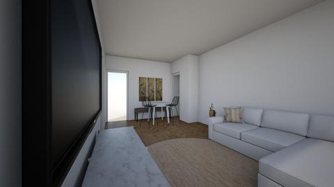 oosterengweg woonkamer - Living room  - by LeonievdK