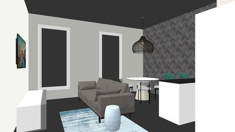 bronzino living penisola - Living room  - by itaspizzico
