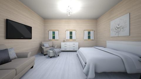 Guest bedroom - Bedroom  - by Harpyflower