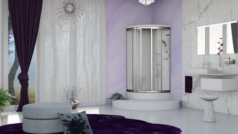 M_ Lavender_ IV - Bathroom - by milyca8