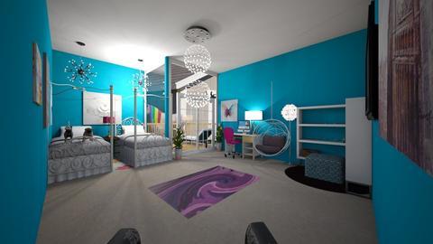 room 3 - Feminine - Kids room  - by earri9504