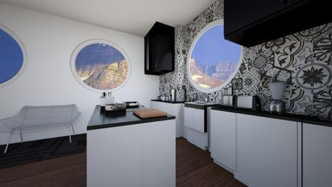 Big Window Kitchen - Glamour - Kitchen  - by RAF2024