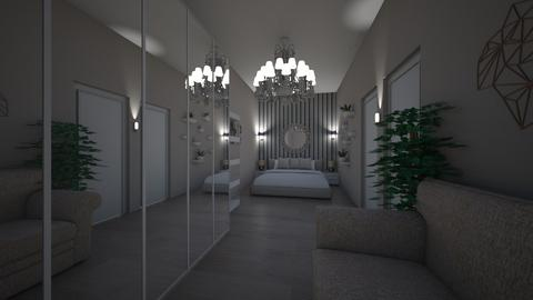 luxury bedroom - Modern - Bedroom  - by anchyyy