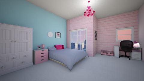 pink - Bedroom  - by Metapor Tammapot