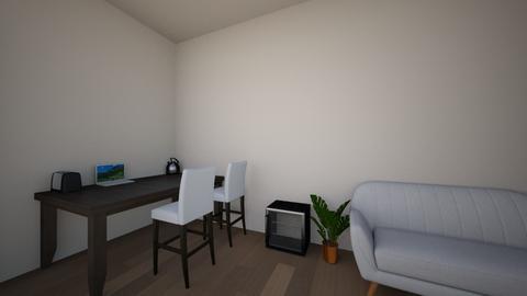 Student Room - Minimal - Bedroom  - by xcarmenmoes