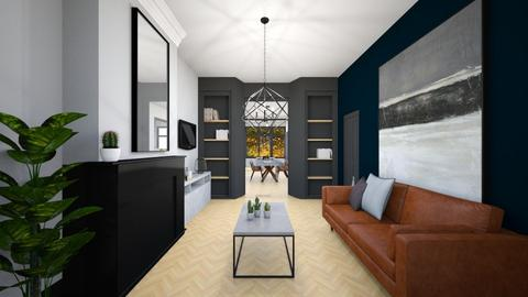 my place  blue option 2 - Living room  - by Esko123