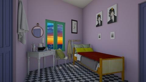 VAN GOGH BEDROOM - Country - Bedroom  - by decordiva1