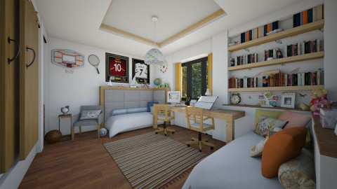 Projekat _ Decija soba - Kids room  - by maja97