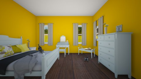 Room in the feilds  - Country - Bedroom  - by lucymorgan