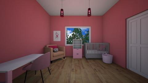 Its a girl - Kids room  - by XenaChico