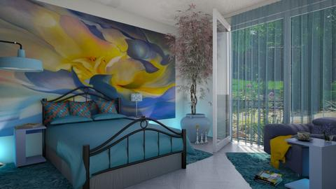Georgia okeffe bedroom - by ilcsi1860