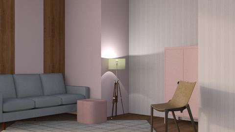 Nook Model  - Minimal - Living room  - by Gurns