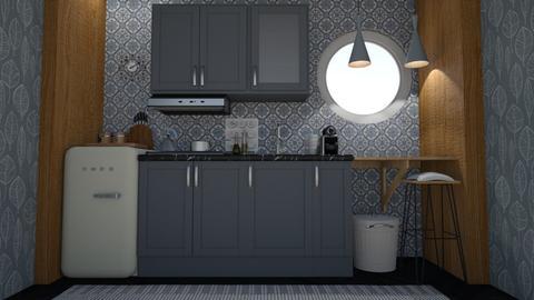 Kitchenette - Minimal - Kitchen  - by HenkRetro1960