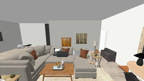 Great Room - Retro - Living room  - by vedamoretti