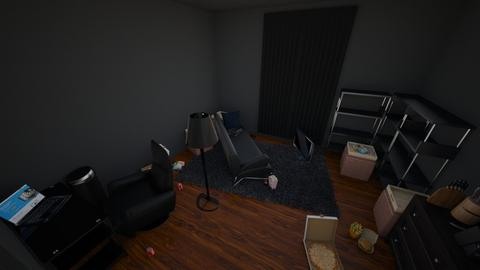 crusty room lol - Bedroom  - by whimzikal