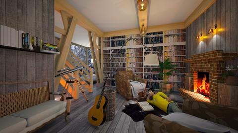 books in your interior - by ilcsi1860