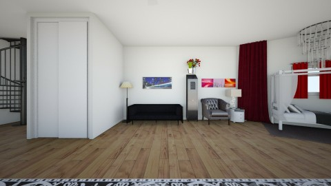 Detailed Room 3 - Bedroom - by Anonymus