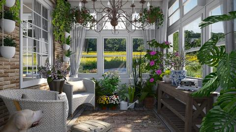 Design 518 Sun Porch - by Daisy320