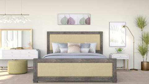 Cream - Modern - Bedroom  - by millerfam