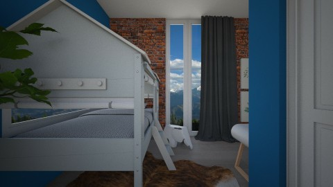 kids bedroom 3 - by elvievandenbroek