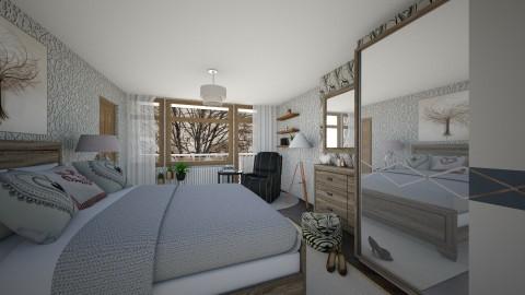 Bedroom redesign_heart - Modern - Bedroom  - by milyca8