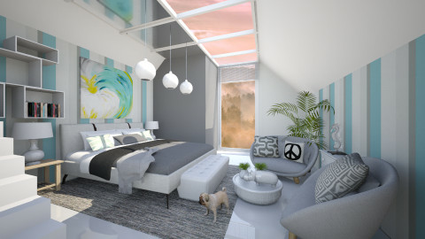 KK1615 - Modern - Bedroom  - by KK1615