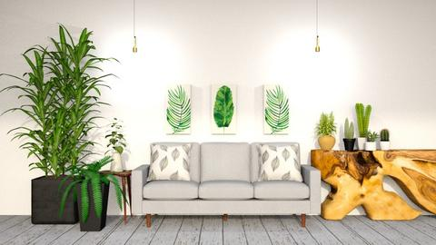 Urban Jungle Design - Modern - Living room  - by CitrusSunrise