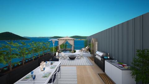rooftop terrace - Global - Garden  - by Irishrose58