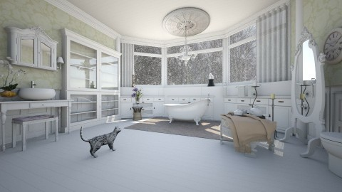chateau - Classic - Bathroom  - by Evangeline_The_Unicorn