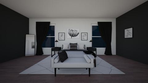 Master Suite Floorplan - Bedroom  - by Destiny Michelle