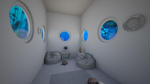 Submarine - Living room  - by Maudemarie