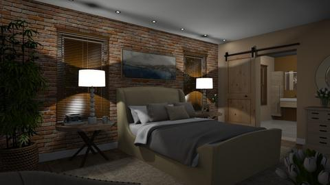 575 - Rustic - Bedroom  - by Claudia Correia