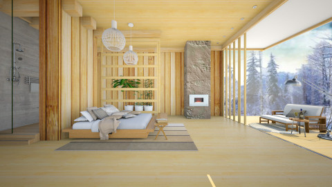 mini_nature  - Modern - Bedroom  - by Ida Dzanovic