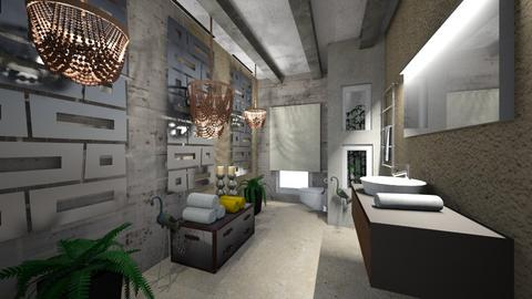 Modern Bath - Modern - Bathroom  - by Nikos Tsokos