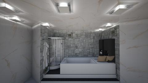 Interior project bathroom - Bathroom  - by K E N Y A T T A
