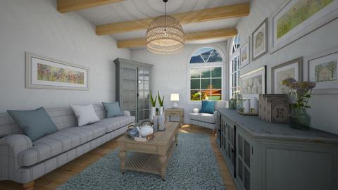 soft room - Country - Living room  - by nuray kalkan
