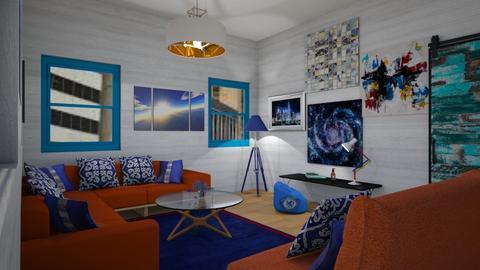Living Bold - Modern - Living room - by XqveenXlove