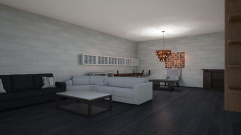 Basement design one - Modern - by hellohv