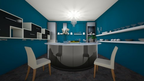 house lol xD - Kitchen - by PINKYPIE283