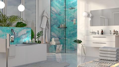 TM Bathroom - Bathroom  - by GraceKathryn