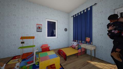 lightning mcqueen  - Modern - Kids room  - by pro 109