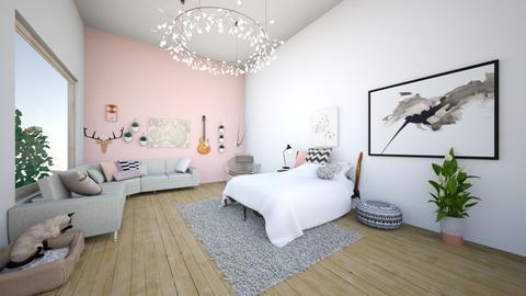 Bedroom loft - Bedroom - by kbaj
