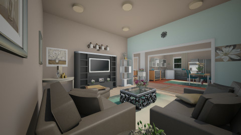 My Apt Redesign - by Narcisse94