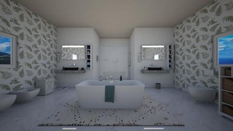 island vibe bathroom - Bathroom  - by crystalg98
