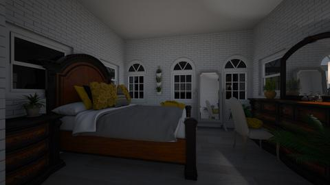 French 103 - Modern - Bedroom  - by dmw16