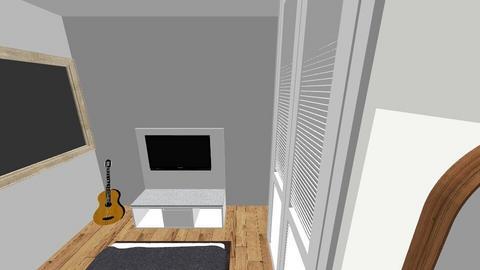 Proceso de Habitacion - Vintage - Bedroom  - by mjvs05