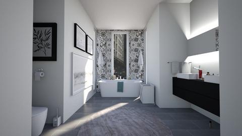 BAW - Modern - Bathroom  - by Agamanta