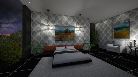 Modern Eclectic - Eclectic - Bedroom  - by nicquo40
