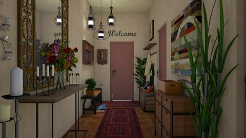 Welcoming Hallway td - by Teri Dawn