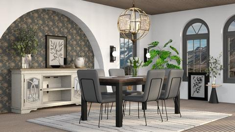 Kylie - Dining room  - by millerfam
